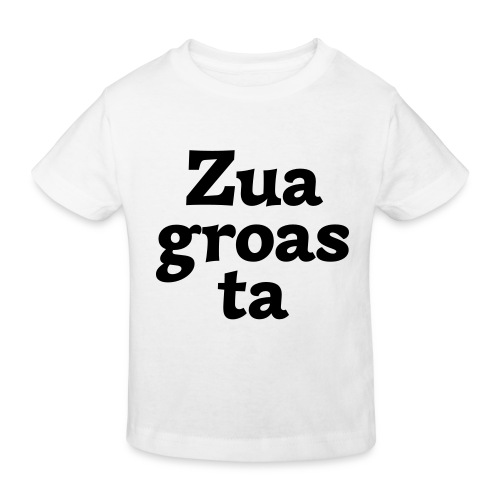 Zuagroasta - Kinder Bio-T-Shirt