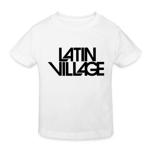 Logo Latin Village 30 - Kinderen Bio-T-shirt