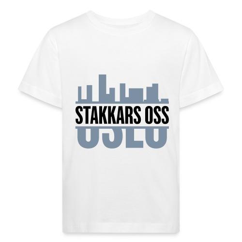 stakkars oss logo 2 ny - Økologisk T-skjorte for barn