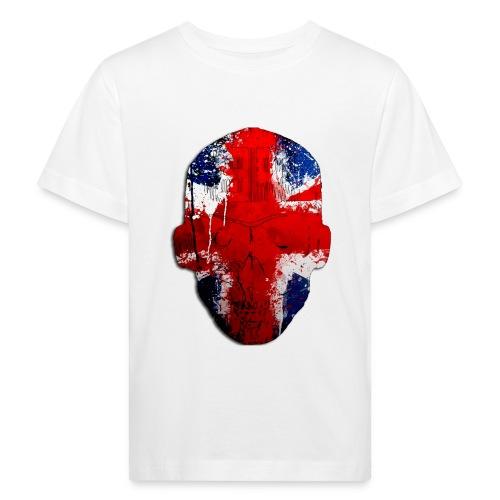 Borg recordings uk Union flag MetaSkull T Shirt - Kids' Organic T-Shirt
