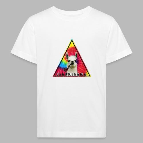 Illumilama logo T-shirt - Kids' Organic T-Shirt