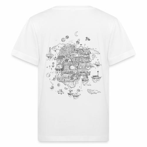 mon territoire n est pas de ce monde - Camiseta ecológica niño