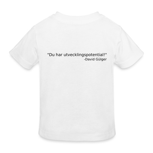 Ju jutsu kai förslag 1 version 1 svart text - Ekologisk T-shirt barn