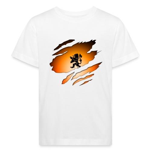 Dutch Inside: Leeuw - Kinderen Bio-T-shirt