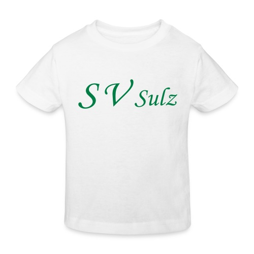 svs schrift 2 - Kinder Bio-T-Shirt
