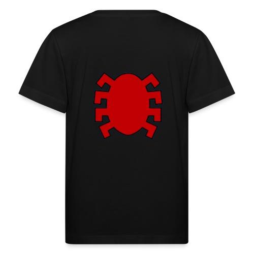 spiderman back - Kids' Organic T-Shirt
