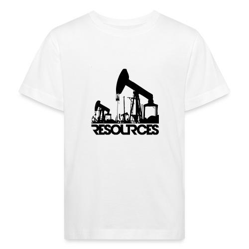 App Icon randlos schwarz - Kinder Bio-T-Shirt