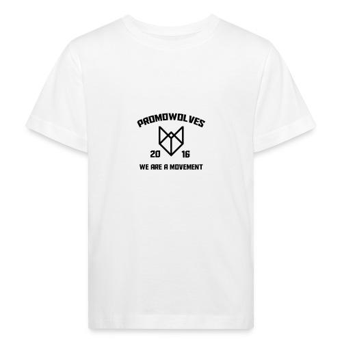 Promowolves finest black - Kinderen Bio-T-shirt