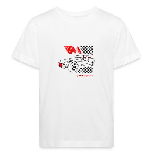 77 vm schwarz - Kinder Bio-T-Shirt