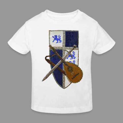 vonardingen_wappen - Kinder Bio-T-Shirt