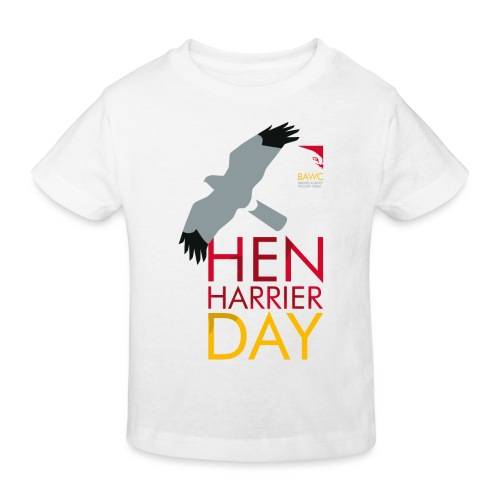 Hen Harrier Day T-Shirt - Kids' Organic T-Shirt