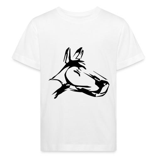 der hund 10 x 10 - Kinder Bio-T-Shirt