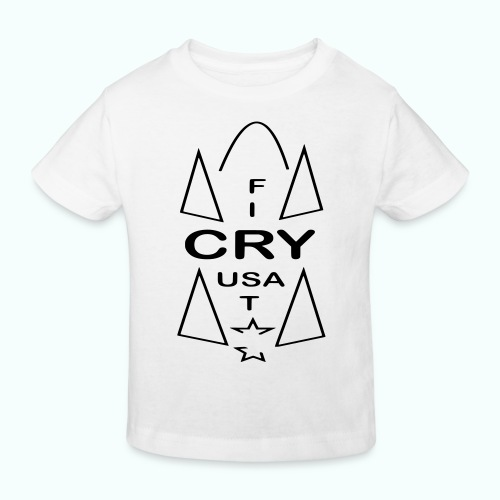cry usa - Kinder Bio-T-Shirt