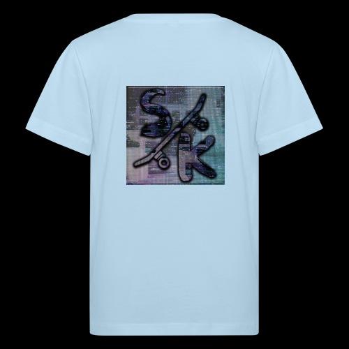 skate - Kinderen Bio-T-shirt