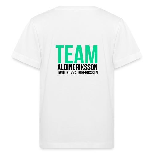 Team albinerikss0n Svart - Ekologisk T-shirt barn