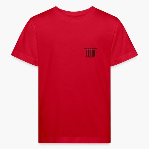 Made in Wales - Kids' Organic T-Shirt