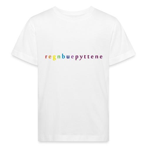 Regnbuepyttene - Økologisk T-skjorte for barn