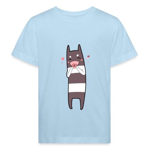 Donut Monster - Kids' Organic T-Shirt