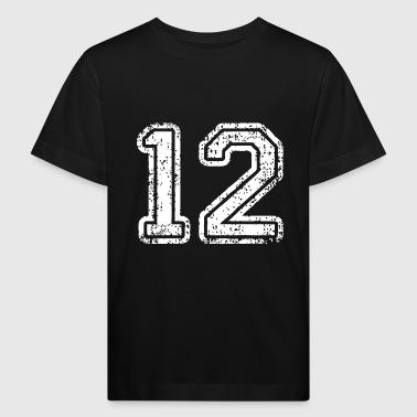 12 - Ekologisk T-shirt barn