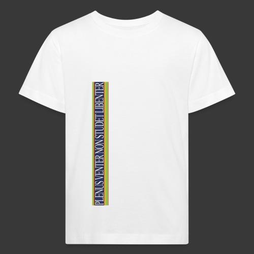 plv weiss - Kinder Bio-T-Shirt