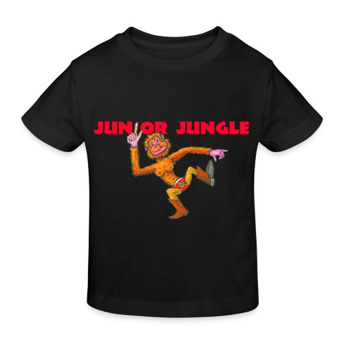 JJ-Monkey-t - Kids' Organic T-Shirt