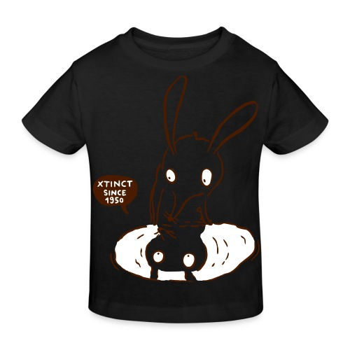 nasenbeutler andrea 2c - Kinder Bio-T-Shirt