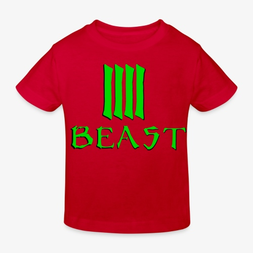 Beast Green - Kids' Organic T-Shirt