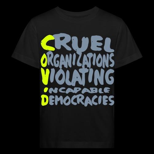 covid - Kinder Bio-T-Shirt