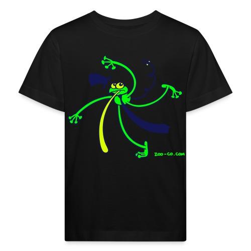 Dancing Frog - Kids' Organic T-Shirt
