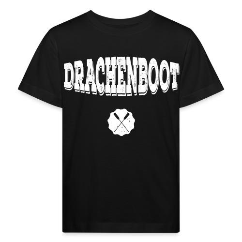 Drachenboot (weiß) - Kinder Bio-T-Shirt