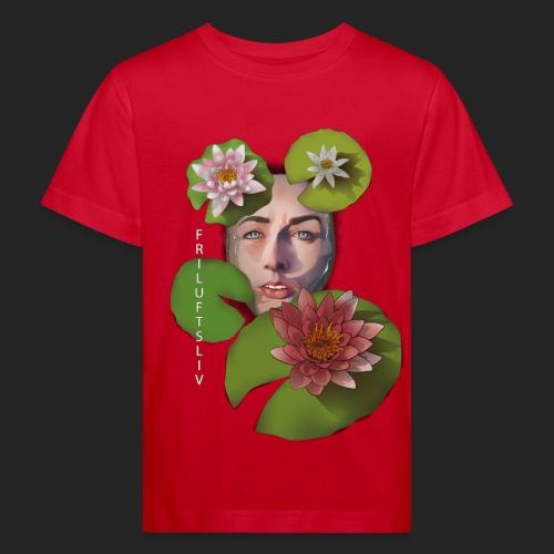 Friluftsliv L'art de se connecter avec la nature - T-shirt bio Enfant