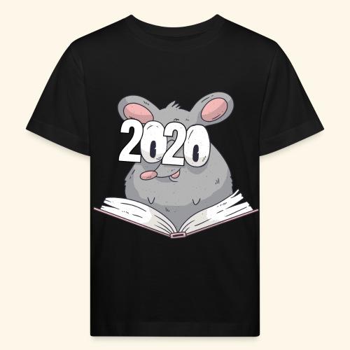2020 Neujahr Chinesisches Horoskop Jahr der Ratte - Kinder Bio-T-Shirt