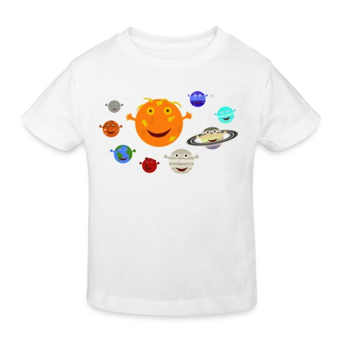 the solar system 1 png - Kids' Organic T-Shirt