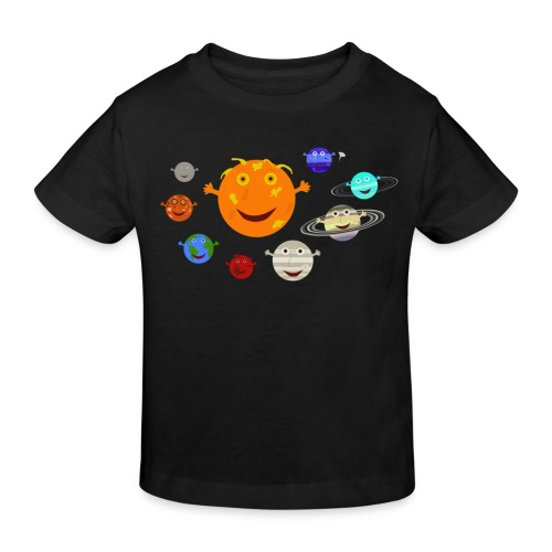 the solar system 1 png - Kids' Organic T-Shirt