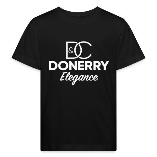 Donerry Elegance NEW White on Dark - Kids' Organic T-Shirt
