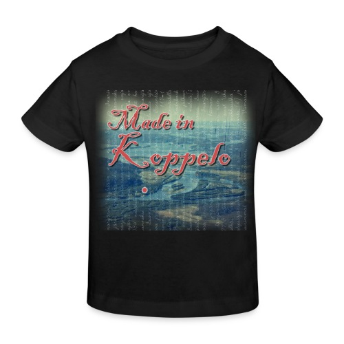 Made in Koppelo lippis - Lasten luonnonmukainen t-paita