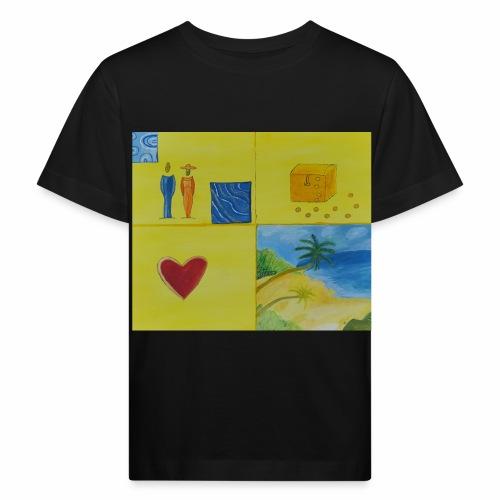 Viererwunsch - Kinder Bio-T-Shirt