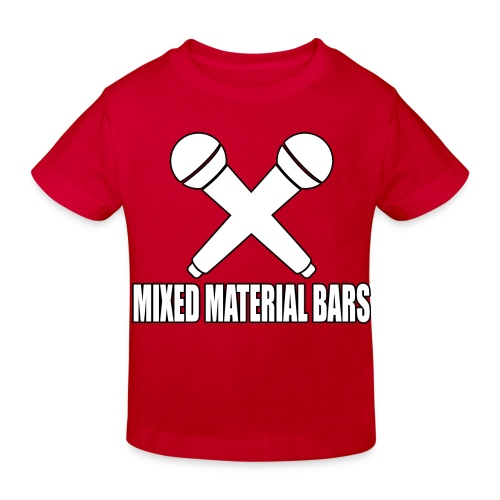 MIXED MATERIAL BARS - Kinder Bio-T-Shirt
