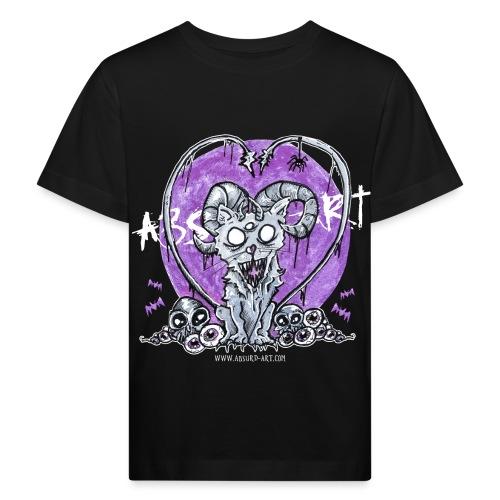 Kitty von Absurd ART - Kinder Bio-T-Shirt