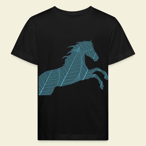 Cheval feuille - T-shirt bio Enfant