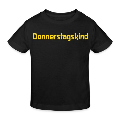 Donnerstagskind - Kinder Bio-T-Shirt