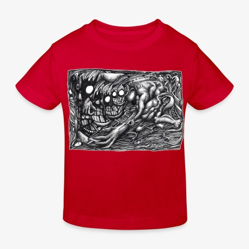 Grendel Mother Dream by Brian Benson - Kids' Organic T-Shirt