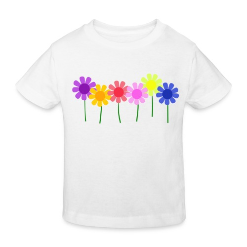 flowers 1 - Kids' Organic T-Shirt