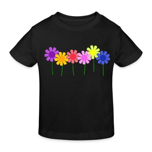 flowers 1 - Kids' Organic T-Shirt