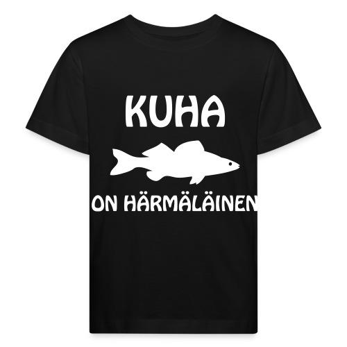 KUHA ON HÄRMÄLÄINEN - Lasten luonnonmukainen t-paita