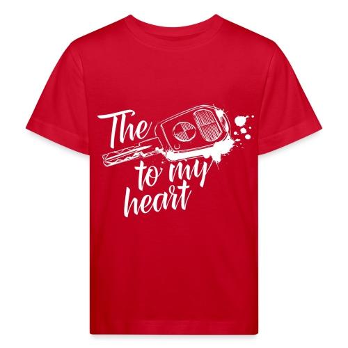 The key to my heart - Kinder Bio-T-Shirt