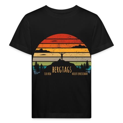 lustige Wanderer Sprüche Shirt Geschenk Retro - Kinder Bio-T-Shirt