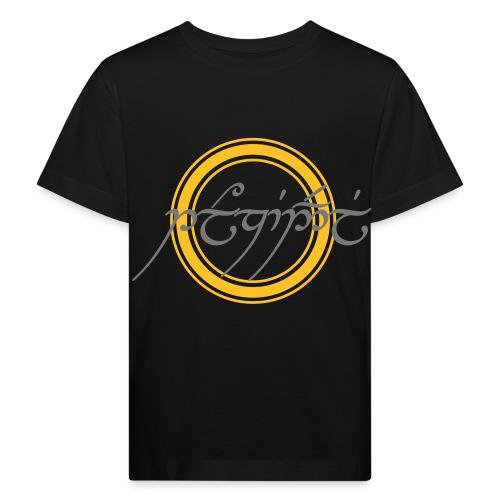 Tolkiendil en tengwar (écusson & dos) - T-shirt bio Enfant