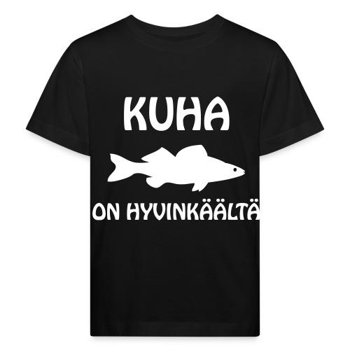 KUHA ON HYVINKÄÄLTÄ - Lasten luonnonmukainen t-paita
