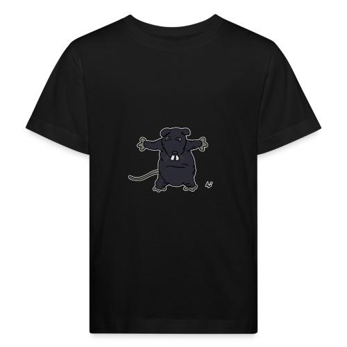 Henkie die Plüschratte - Kinder Bio-T-Shirt